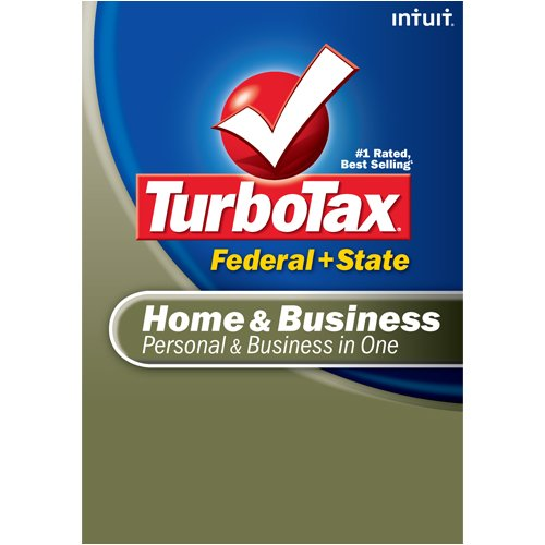 TurboTax Home & Business Federal + State + eFile 2008 (Old Version) [DOWNLOAD] Intuit 408702