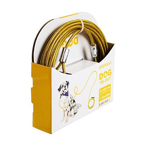 Petphabet The Best Heavy Duty Tie Out Cable For Medium