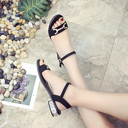 Mujer Sandalias Zapatos tac para RETUROM de 5qS0qw