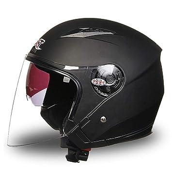 Sunjing Casco Delantero con Capucha Casco Modular De Motocicleta Casco De Moto Racing Casco Eléctrico Hombres