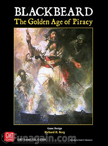 (Blackbeard: The Golden Age of Piracy Boardgame)