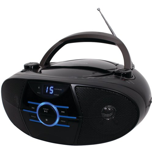 Price comparison product image JENSEN CD-560 Portable Stereo CD Player with AM/FM Stereo Radio & Bluetooth(R) Computers, Electronics, Office Supplies, Computing