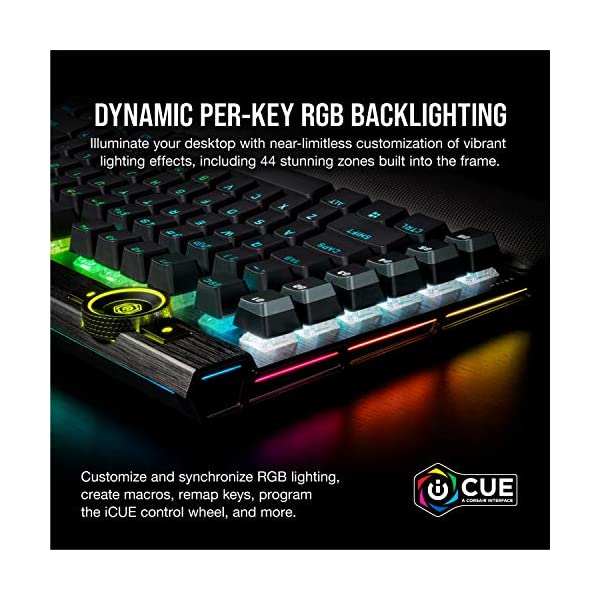 Corsair K100 RGB Optical-Mechanical Gaming Keyboard