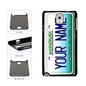Personalized Custom Missouri License Plate Plastic Phone Case Back Cover Samsung Galaxy Note III 3 N9002