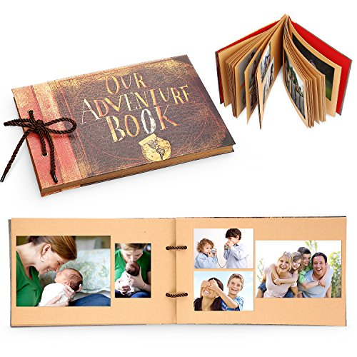 handmade diy family scrapbook our adventure book pixar up photo