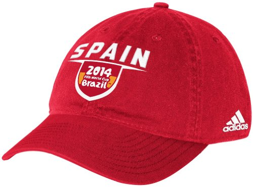 Adidas Spain World Cup - adidas Spain Red 2014 FIFA World Cup Adjustable Hat/Cap