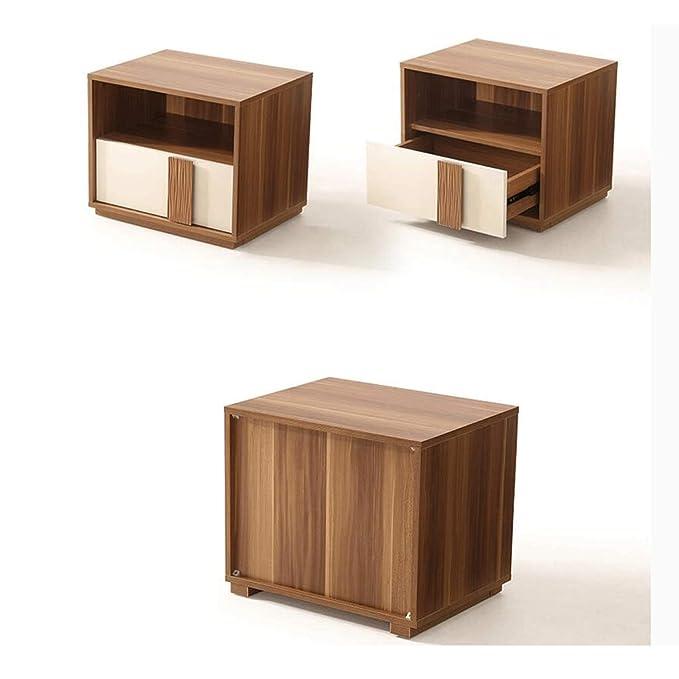 Amazon.com: LRZS Modern Minimalist Bedside Table Mini ...