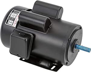 Grizzly Industrial H5383 - Motor 2 HP Single-Phase 1725 RPM TEFC 110V/220V