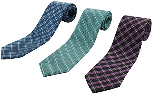 Set of 3 Elegant Neck Ties By Mens Collections - Multiple Sets to Chose From (22)