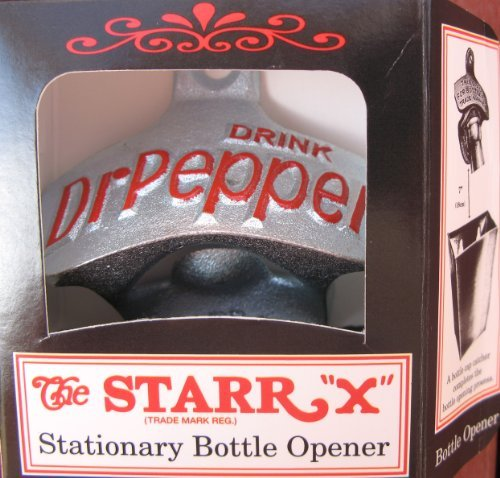 Drink Dr Pepper Wall Mounted Bottle Opener