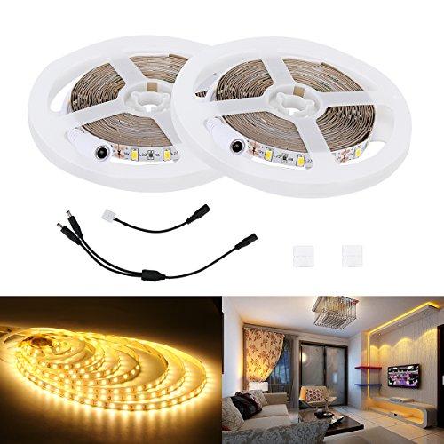UPC 717261346258, LED Light Strip, Lahoku 2 Rolls 16.4ft SMD5730 Flexible Effect Lighting for Home Decoration, Indoor Party, Festival Celebration (Warm White)