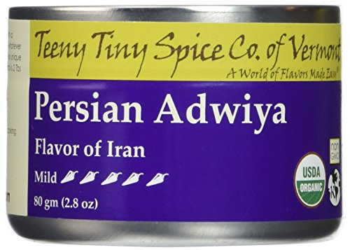 Teeny Tiny Spice Co of Vermont Organic Persian Adwiya, 2.8 Oz