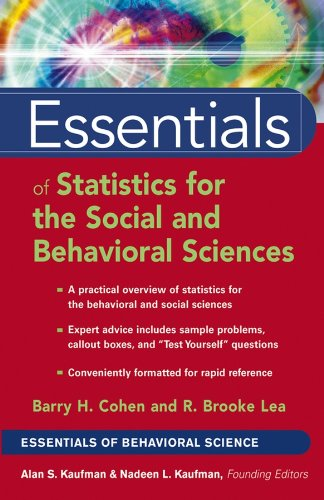 Essentials of Statistics for the Social and Behavioral Sciences (Essentials of Behavioral Science Book 7) (Essentials Of Statistics For The Behavioral Sciences Ebook)