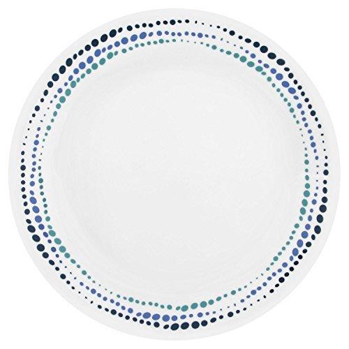 Corelle Livingware Ocean Blues 10.25'' Dinner Plate (Set of 6) by Corelle Coordinates (Image #1)
