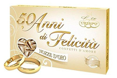 Rocard Confetti Crispo 50 Anni Di Felicita Nozze D Oro 500gr