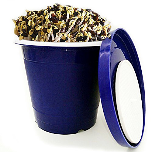 Grow Alfalfa Sprouts (Seed Sprouter Pot,Green Health Bean Sprouting Device 5.91