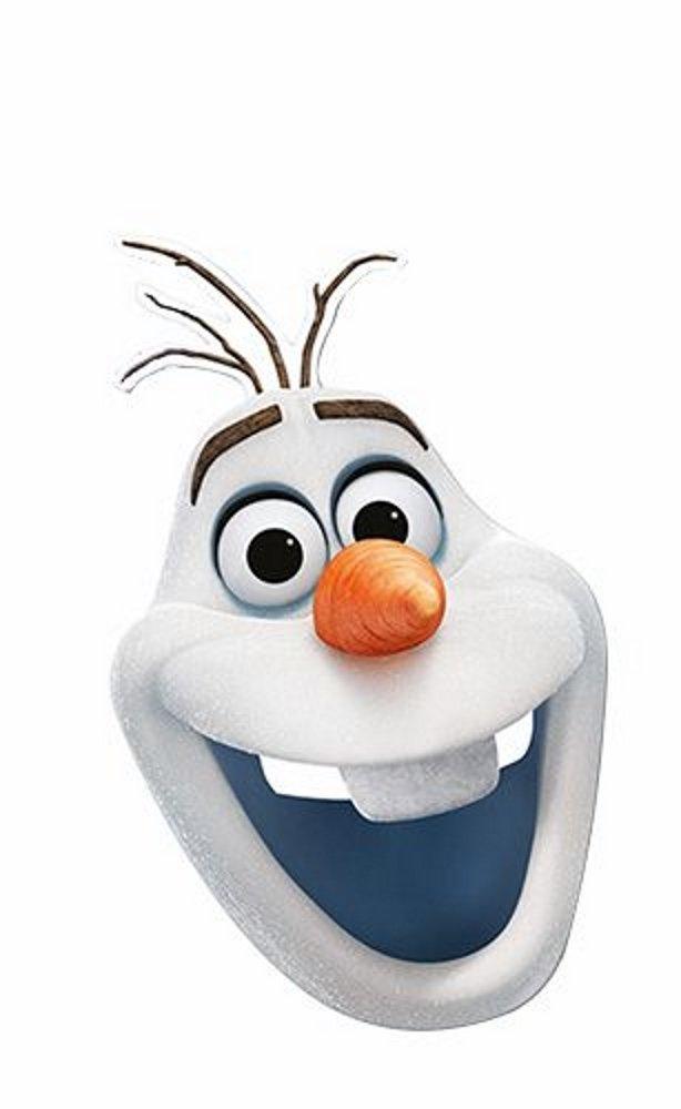 Frozen Disney Masque carton Olaf 05199