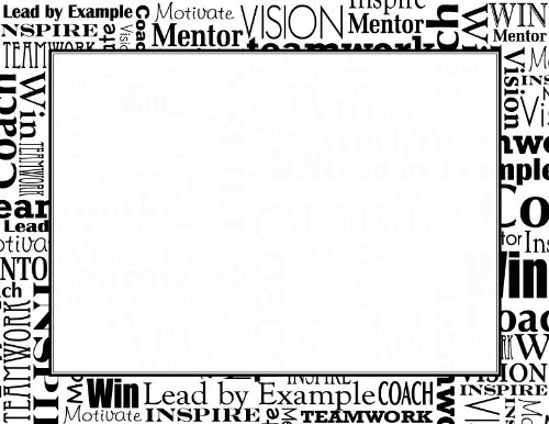 Geographics Black and White Words Certificates, Pack of 25 (48608)