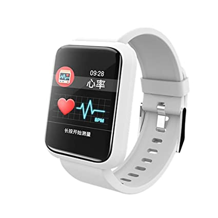 Smartwatch Android iOS Bluetooth Smart Sports Waterproof Heart ...