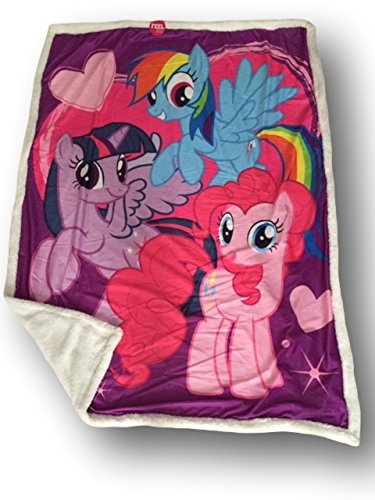 My Little Pony Puzzle To Go and Super Soft Blanket Seet