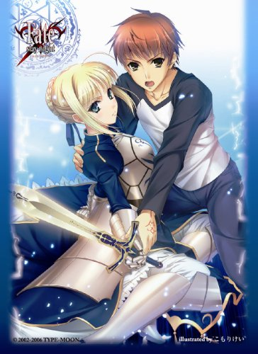 Fate/stay night SABER & EMIYA Shiro Chara Character Card Sleeves No.177 MTG TCG CCG