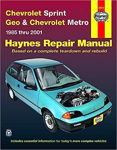 Automotive Software Haynes 28700 Technical Repair Manual pubfactor.ma