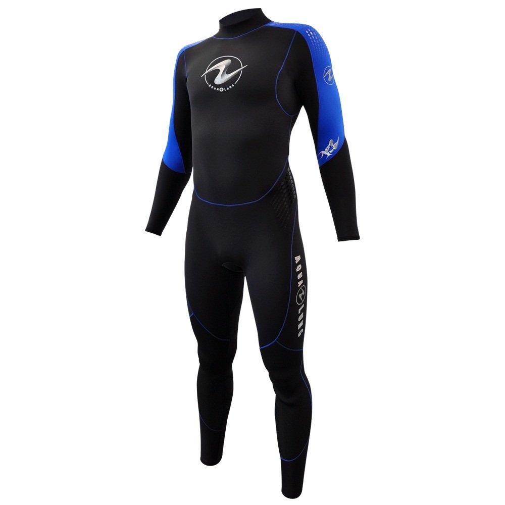 【即納】 Aqua LungメンズAquaflex mm 5 mm back-zipジャンプスーツ Aqua B06XHVVB5S グレー/ブルー X-Large X-Large X-Large|グレー/ブルー, KSC:b680dccd --- svecha37.ru