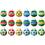 Mini Ornaments Christmas Sugar Decorations Cookie Cupcake Cake 12 Count