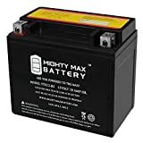 Mighty Max Battery YTX12-BS 12V 10AH Battery for Piaggio (Vespa) LX150 4T 2012 Brand Product