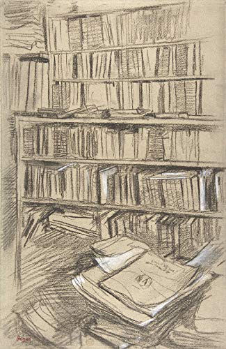 Edgar Degas Bookshelves Metropolitan Museum of Art, New York 30