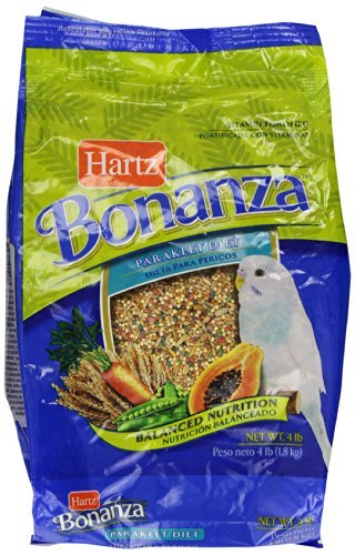 d Gourmet Diet Supply, Parakeet by HARTZ (Bonanza Parakeet Gourmet Diet)