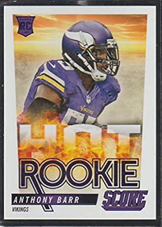 low priced 500ae 14037 Amazon.com: 2014 Score Anthony Barr Vikings Hot Rookie ...