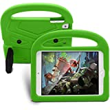 iPad 9.7 2018 6th Case,Kids EVA Foam Shockproof Case Stand Tablet Cover Protective Shell for Apple iPad 9.7 2018 6th - Green (Model A1893 A1954)