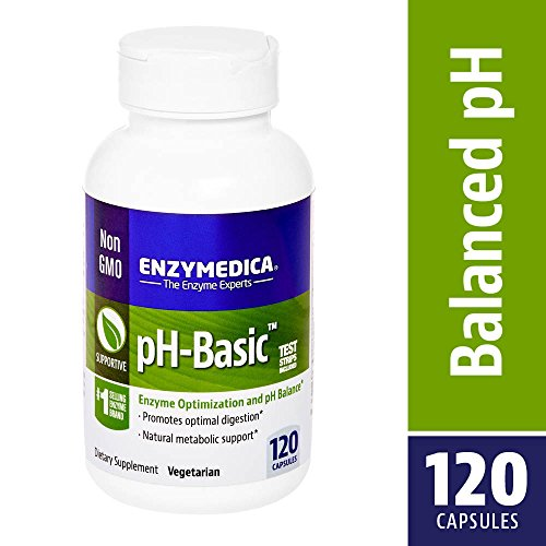 Enzymedica - pH-Basic, Enzyme Optimization & pH Balance, 120 Capsules (FFP)