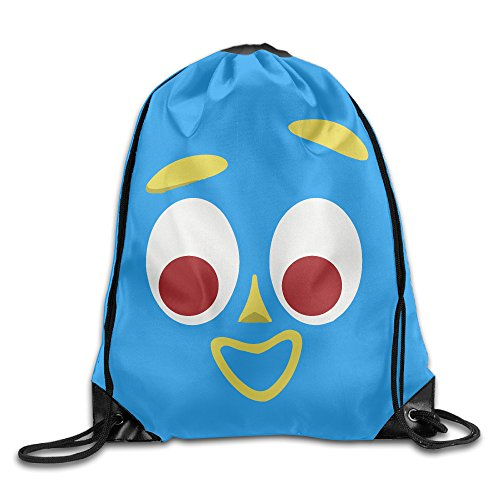 Gumby Face - The Gumby Face Drawstring Gymsack Bag