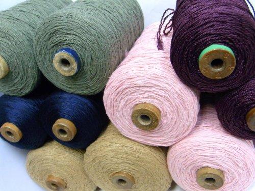 お楽しみ袋(シルクシルク混)(2~3巻セット) お手元にいろいろな糸を揃えたい方必見! B00O2ODZRA