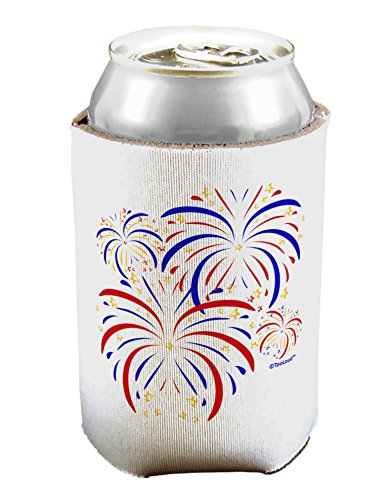 TooLoud Patriotic Fireworks with Bursting Stars Can/Bottle Insulator Cooler - 2 Pack