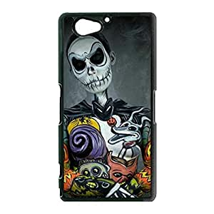 Sony Xperia Z2 Compact Phone Case,The Nightmare Before Christmas Cover Case Beautiful Cartoon Logo New Arrival Premium Phone Accessory with Classic The Nightmare Before Christmas Design