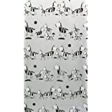 Waterproof Black And White Carton Zebra Bathroom Shower Curtain (180*200cm)