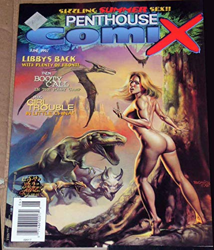 Penthouse Comix Comic, June 1997 Large Glossy Sexy Magazine/Comic book 8x11 inches