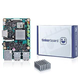 ASUS SBC Tinker board RK3288 SoC 1.8GHz Quad Core CPU, 600MHz Mali-T764 GPU, 2GB (B06VSBVQWS) | Amazon price tracker / tracking, Amazon price history charts, Amazon price watches, Amazon price drop alerts