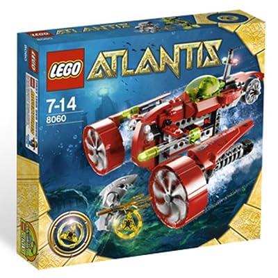 LEGO Atlantis Typhoon Turbo Sub (8060): Toys & Games