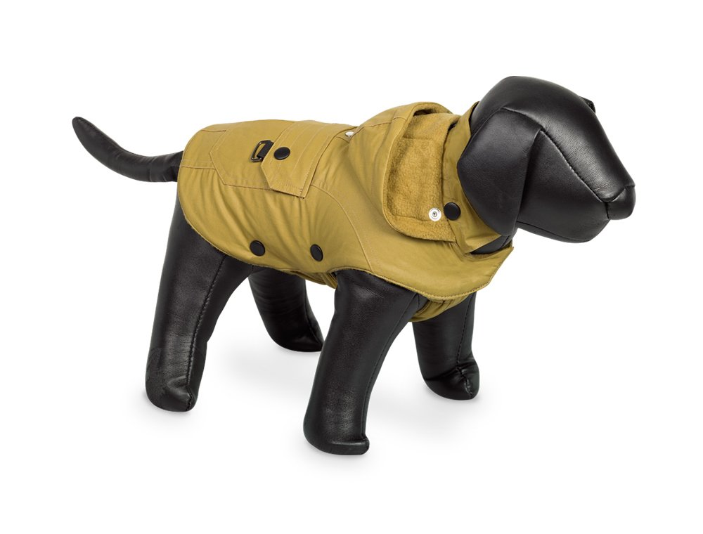 Nobby Mellow Hooded Dog Coat (12.5in) (Yellow)