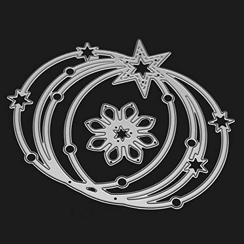 FORUU Die Cut, Metal Cutting Dies Stencils Scrapbooking Embossing Mould Templates Handicrafts DIY Card Making Paper Cards Best Gift 3D Carbon Steel Cards Crafts K