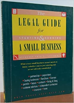Legal Guide for Starting and Running