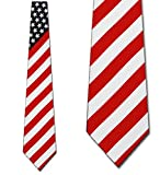 FLAG ties Neckties by Three Rooker