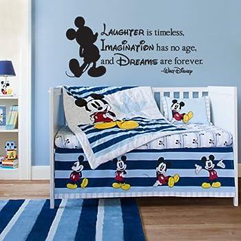 Walt Disney Dream Quote Vinyl Wall Art Decal Stickers Decor - Custom vinyl wall decals disney