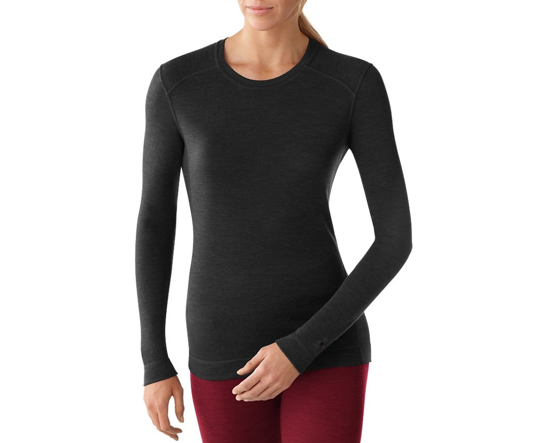 Smartwool Womens NTS Mid 250 Crew (Black) Large by SmartWool (Image #2)