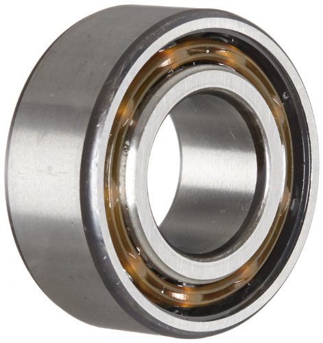 SKF 3205 ATN9 Double Row Ball Bearing, Converging Angle Design, ABEC 1 Precision, Open, Plastic Cage, Normal Clearance, 25mm Bore, 52mm OD, 13/16'' Width, 12000 rpm Maximum Rotational Speed, 3218.0 pounds Static Load Capacity, 4860.00 pounds Dynamic Load C by SKF