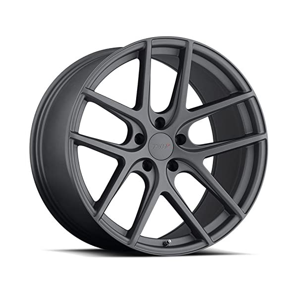 TSW-Geneva-Grey-Wheel-with-Painted-Finish-18-x-105-inches-5-x-114-mm-27-mm-Offset